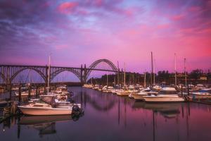 Yaquina Bay Sunrise by Darren White Photography