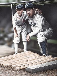 Babe Ruth and the Bat Boy by Darryl Vlasak