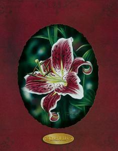 Red Lilies III by Darryl Vlasak