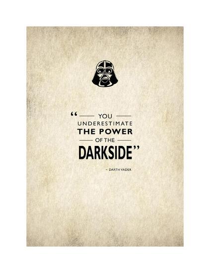 Darth Vader-Mark Rogan-Giclee Print