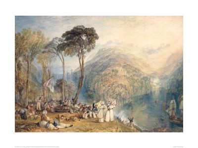 Dartmouth Cove-J^ M^ W^ Turner-Giclee Print