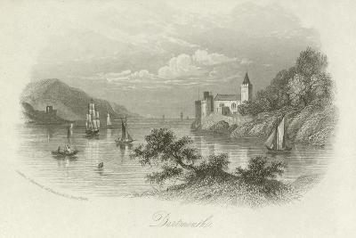 Dartmouth, Devon--Giclee Print