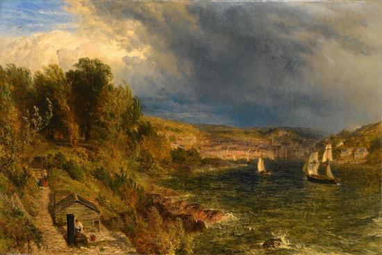 Dartmouth from St. Petrox Churchyard, 1852-Henry Dawson-Giclee Print