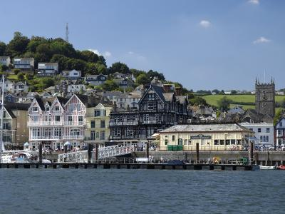 Dartmouth Waterfront, South Devon, England, United Kingdom, Europe-Rob Cousins-Photographic Print