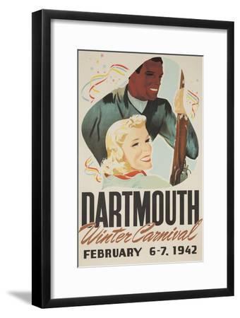 Dartmouth Winter Carnival Poster 1942