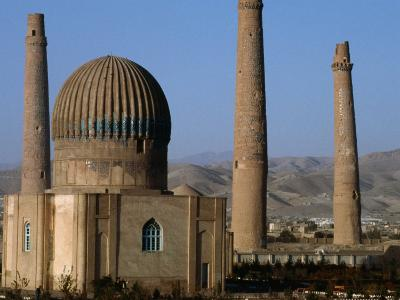 Darulaman Palace (Kings Palace) Home of King Zahir Shah, Herat, Afghanistan-Stephane Victor-Photographic Print