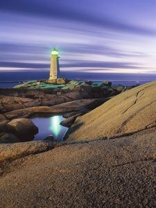Peggy's Cove Lighthouse, Nova Scotia, Canada. by Darwin Wiggett