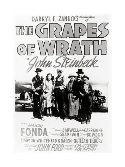 """Daryl F. Zanuck's Producion of """"The Grapes of Wrath"""" by John Steinbck--Giclee Print"""