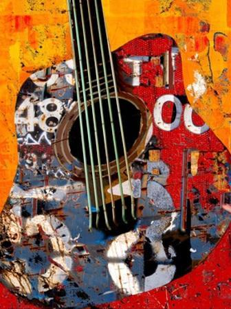 '58 Guitar by Daryl Thetford