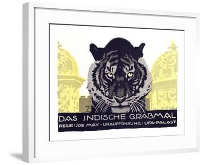 Das Indische Grabmal-Ludwig Hohlwein-Framed Giclee Print