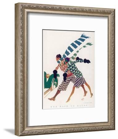 Dash to Davos by Carter--Framed Giclee Print