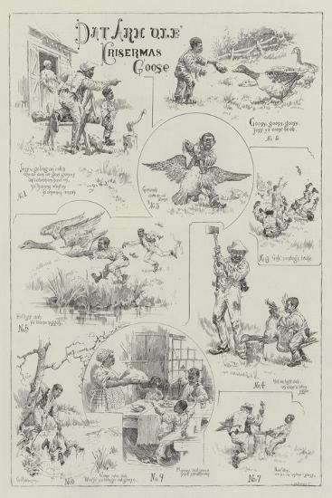 Dat Arh Ole Krisermas Goose--Giclee Print