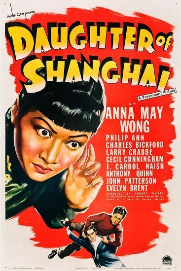Daughter of Shanghai, Anna May Wong, Anthony Quinn, Philip Ahn, 1937--Art Print