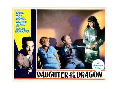 Daughter of the Dragon, 1931--Giclee Print