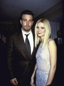 """Actors Ben Affleck and Gwyneth Paltrow at Film Premiere of their """"Shakespeare in Love"""" by Dave Allocca"""