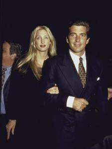 John F. Kennedy Jr. and Wife Carolyn at George Magazine's 2nd Anniversary Party by Dave Allocca