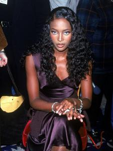 Model Naomi Campbell by Dave Allocca