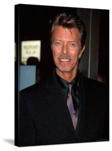 """Musician David Bowie at Film Premiere Of """"Meet Joe Black"""" by Dave Allocca"""