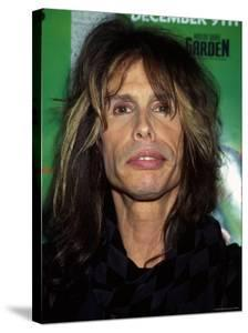 Musician Steven Tyler at Z-100 Radio Station's Jingle Ball by Dave Allocca