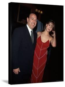 Record Executive Tommy Mottola and Wife, Singer Mariah Carey by Dave Allocca
