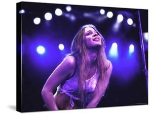 Singer Fiona Apple Performing by Dave Allocca