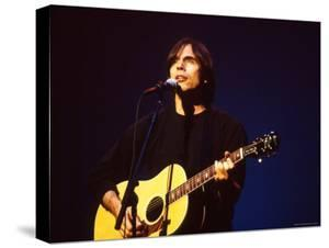 Singer Jackson Browne Performing by Dave Allocca