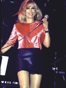 Singer Nancy Sinatra Performing by Dave Allocca