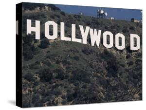 The Landmark Hollywood Sign by Dave Allocca