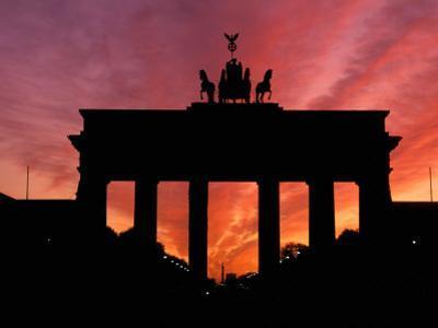 Brandenburg Gate, Unter Den Linden, Berlin, Germany by Dave Bartruff