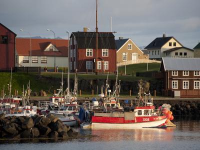 Inner Harbor of Port of Stykkisholmur, Iceland