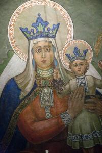Mural in St. Nicholas Croatian Catholic Church in Millvale, Pa, Usa by Dave Bartruff