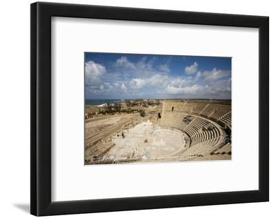 The Theater of Caesarea on the Shores of the Mediterranean Sea, Caesarea, Israel