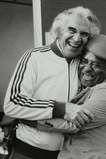 Dave Brubeck and Dizzy Gillespie at the Capital Radio Jazz Festival, Alexandra Palace, London, 1979-Denis Williams-Photographic Print