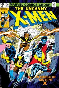 Uncanny X-Men No.126 Cover: Wolverine, Colossus, Storm, Cyclops, Nightcrawler and X-Men Fighting by Dave Cockrum