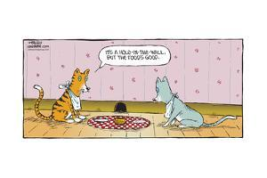 Speed Bump™ - It's a hole-in-the-wall, but the food's good. by Dave Coverly