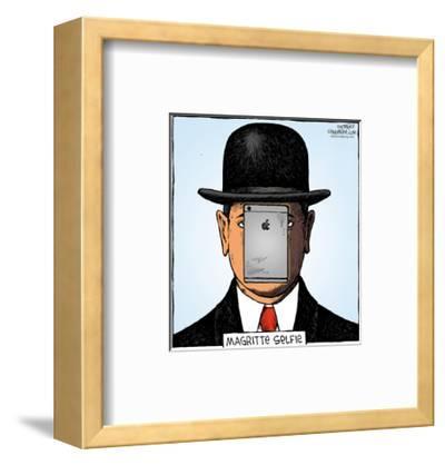 Speed Bump™ - Magritte selfie.