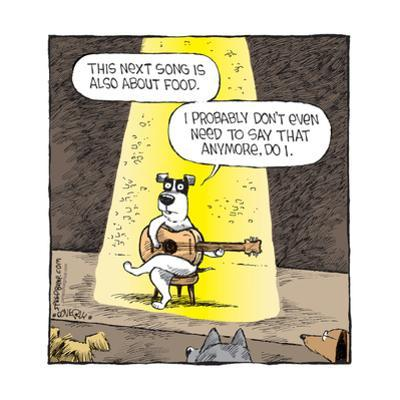 Speed Bump™ - This next song is also about food. I probably don't even need by Dave Coverly