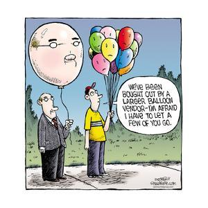 Speed Bump™ - We've been bought out by a larger balloon vendor - I'm afraid by Dave Coverly