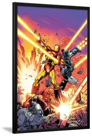 Iron Man #258.4 Cover Featuring Iron Man, War Machine
