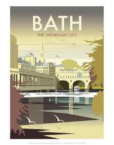 Bath - Dave Thompson Contemporary Travel Print by Dave Thompson