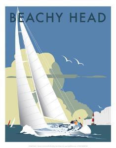 Beachy Head - Dave Thompson Contemporary Travel Print by Dave Thompson