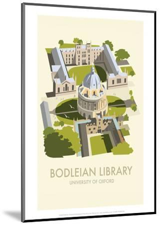 Bodelein Library Exterior - Dave Thompson Contemporary Travel Print by Dave Thompson