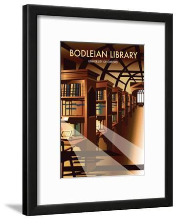 Bodelein Library Interior - Dave Thompson Contemporary Travel Print
