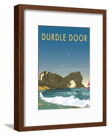 Durdle Door - Dave Thompson Contemporary Travel Print