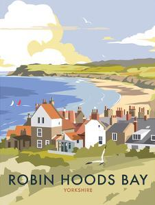 Robin Hoods Bay - Dave Thompson Contemporary Travel Print by Dave Thompson