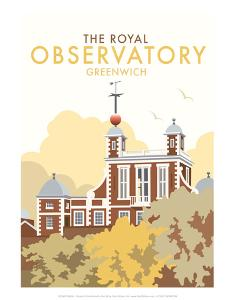 Royal Observatory - Dave Thompson Contemporary Travel Print by Dave Thompson