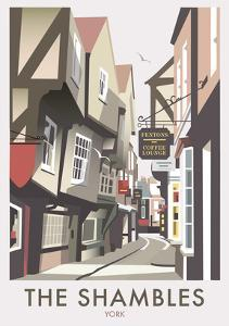 Shambles - Dave Thompson Contemporary Travel Print by Dave Thompson