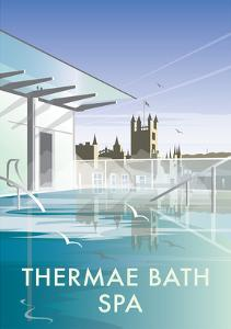 Thermae Bath Spa - Dave Thompson Contemporary Travel Print by Dave Thompson