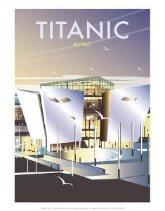 Titanic Museum - Dave Thompson Contemporary Travel Print by Dave Thompson