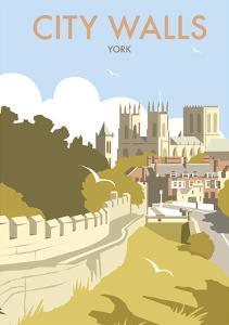 York City Walls - Dave Thompson Contemporary Travel Print by Dave Thompson